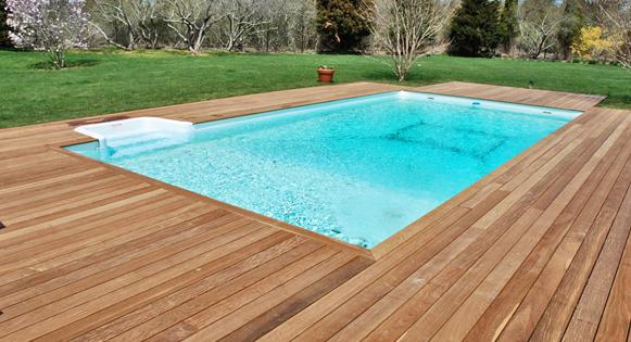 Bassins et jardins modernes et design - Jardin piscine service limoges ...