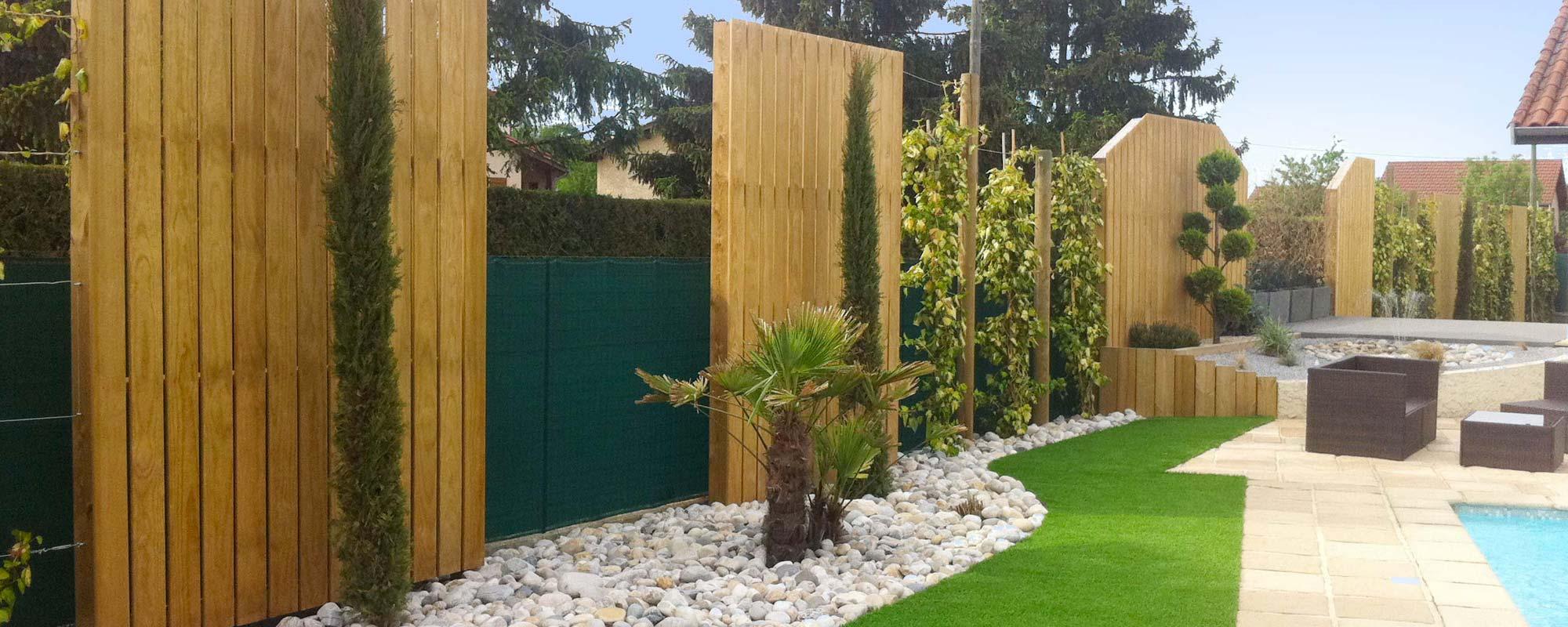Bassins et jardins modernes et design for Jardins et services